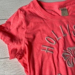 Hollister Bright Pink Graphic Tee